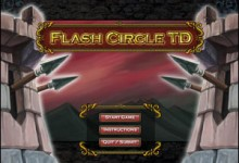 Flash Circle Tower Defense
