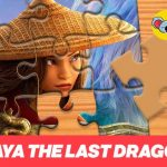 Raya the last Dragon Jigsaw Puzzle Planet