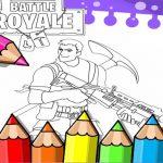 Fortnite Coloring Book Game