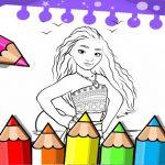Moana Coloring Book