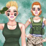 Princess Military Fashion
