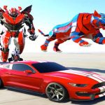 Transformers Car Robot Transforming Game